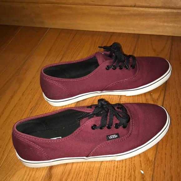 0883af823a Maroon Vans. M 5a9dde00fcdc314e6bcf86f3. Other Shoes ...